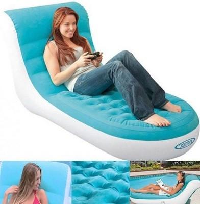Надувное кресло-кровать Intex 68880 (170 см x 84 см x 81 см)