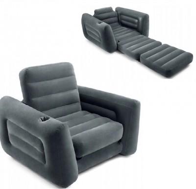 Надувное кресло-трансформер Intex 68565 (224 см х 117 см х 66 см)