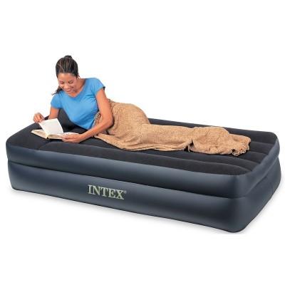 Односпальная надувная кровать Intex - 66721 (99см х 191см х 47см)