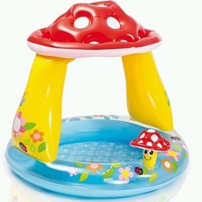 Детский надувной бассейн «Грибочек» - обновленная модель для самых маленьких