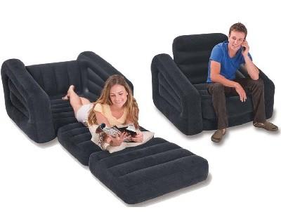 Надувное кресло-трансформер Intex 68565 (109 см х 218 см х 66 см)