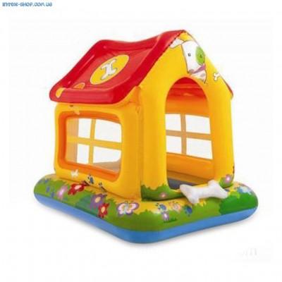 Детский игровой центр Intex 57429 «Домик» (142см х117см х122см)