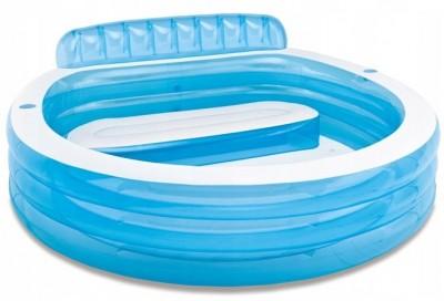 Надувной бассейн Intex 57190 (224 см х 216 см х 76 см)