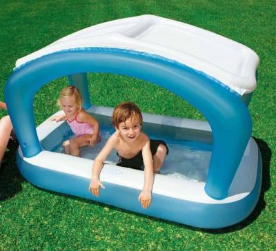 Детский надувной бассейн с навесом Intex 57423 ( 168 см х 99 см х 104 см)
