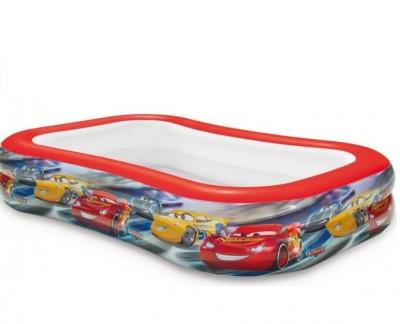 Детский надувной бассейн «Тачки» Intex 57478 (262 см х 175 см х 56 см)