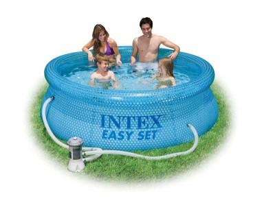 Надувной бассейн Intex Easy Set Pool 54912, 244 см х 76 см + насос фильтр