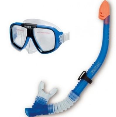Набор для плаванья (маска с трубкой) Intex 55948 от 8 лет