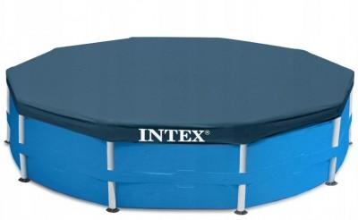 Тент Intex 58411 для каркасного бассейна. Диаметр: 366см