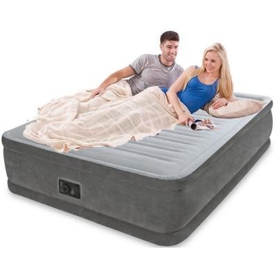 Двухспальная надувная кровать Intex - 64414 (152см x 203см x 46см)
