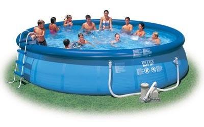 Надувной бассейн Intex Easy Set Pool 56905, 549 см х 122 см + аксессуары