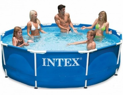 Каркасный бассейн Metal Frame Pool Intex 28200 (305 см х 76 см)