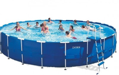 Каркасный бассейн Intex 28226 Metal Frame Pool (732 см х 132 см)