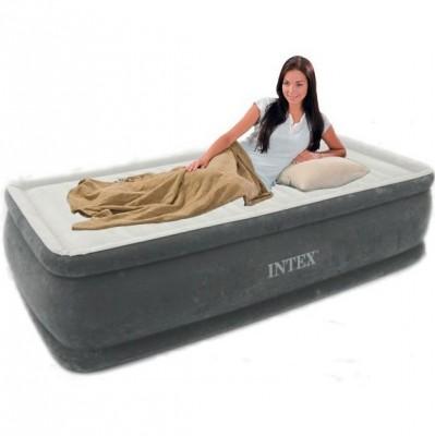 Односпальная надувная кровать Intex 64412 (99см x 191см x 46см)
