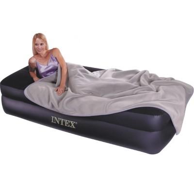 Односпальная надувная кровать Intex - 64122 (99 см х 191 см х 47 см)