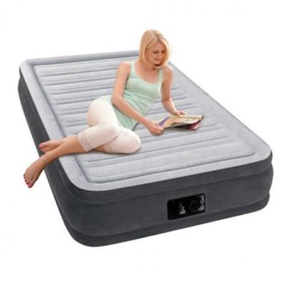 Акция! Односпальная надувная кровать Intex - 67766 (99см x 191см x 33см)