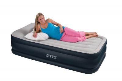 Односпальная надувная кровать Intex - 67730 (99 см х 203см х 47см)