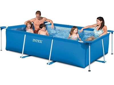 Каркасный бассейн Metal Frame Pool Intex 58981 (300 см х 200 см х 75 см)