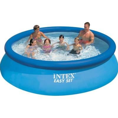 Акция! Насос в подарок! Надувной бассейн Easy Set Pool  Intex 56920, 305 см х 76 см