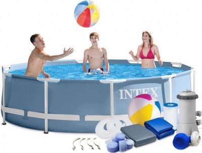 Новинка от кампании INTEX! Каркасный бассейн Intex 26718 (366 см х 99 см)