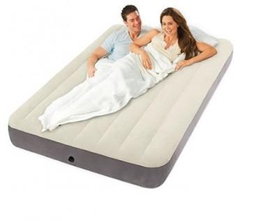 Полуторный надувной матрас  Intex 64708 (137 см х 191см х 25см)