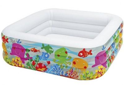 Надувной бассейн Intex 57471 (159 см х 159 см х 50 см)