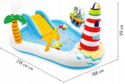 Новинка! Акция - насос в подарок ! Игровой центр «Веселая рыбалка» - яркий дизайн и веселые развлечения