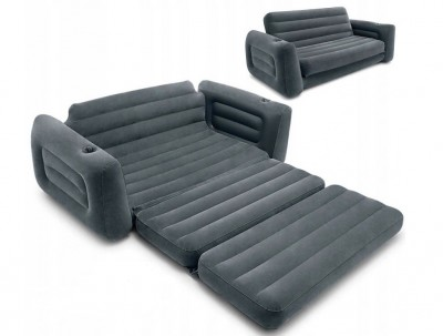 Диван-трансформер Pull Out Sofa Intex 68566 (224см x 203см x 66см)