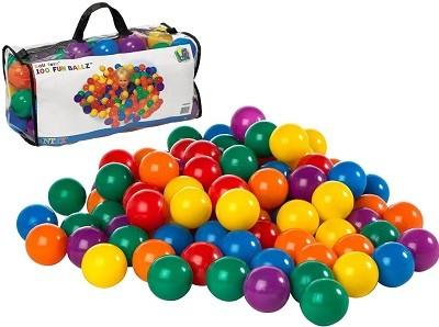 Набор цветных мячей для игрового центра Intex 49602 (6 см диаметр) - 100 штук