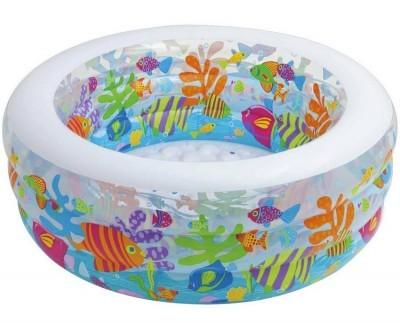 Детский надувной бассейн INTEX 58480 – комфортный и универсальный