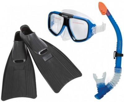 Набор для плаванья (маска, трубка, ласты) Intex 55957