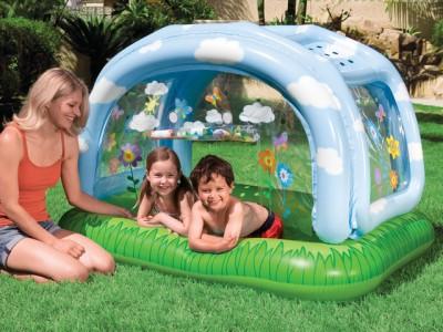 Детский бассейн с тентом Intex 57406