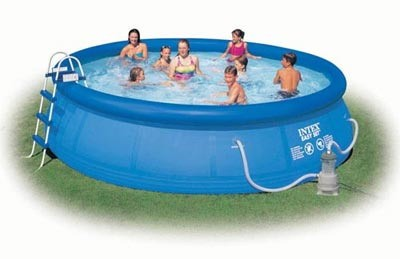 Надувной бассейн Intex Easy Set Pool 56409, 457 см х 107 см