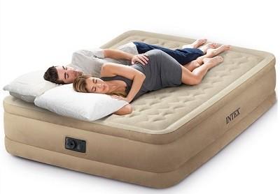 Новая уникальная разработка Интекс – надувная кровать серии Ultra Plush Bed