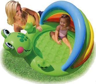 Детский надувной бассейн Intex 57416 (114см х 99см х 69см).