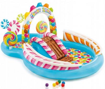 Надувной игровой центр Intex 57149 «Sweets» (295 см х 191 см х 130 см)