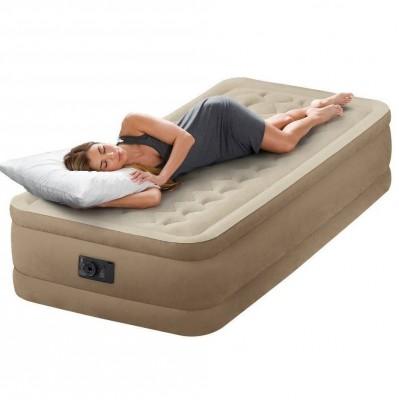 Односпальная надувная кровать Intex  64456 (99 см х 191 см х 47 см)