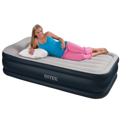 Односпальная надувная кровать Intex - 67732 (99 см х 191 см х 47 см)