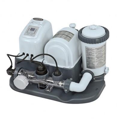 Хлор-генератор с фильтрующим насосом Intex Saltwater System 28674