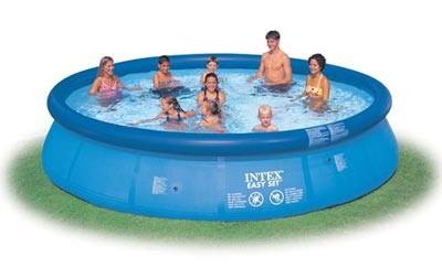 Надувной бассейн Intex Easy Set Pool 56410, 457 см х 84 см + насос фильтр