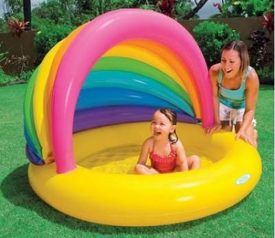 Детский надувной бассейн Intex 57420 ( 155 см х 135 см х 104 см)
