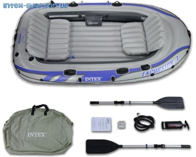 Надувная лодка Intex 68324 (315 см х 165 см х 43см) (Full version)