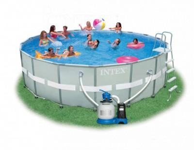 Каркасный бассейн Intex 54958 Ultra Frame Pool (549 см х 132 см)