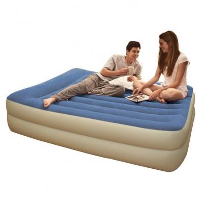 Двуспальная надувная кровать Intex - 67714 (152 см х 203 см х 47 см)