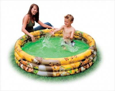 Надувной бассейн детский Intex 57425 (147 см х 33 см)
