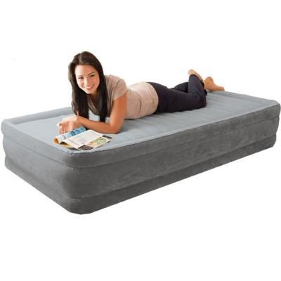 Полуторная надувная кровать Intex 67768 Comfort Plush (137см x 191см x 33см)