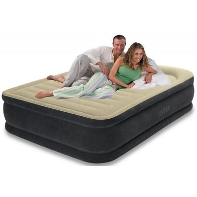 Двухспальная надувная кровать Intex - 64408 (152 см x 203 см x 46 см)