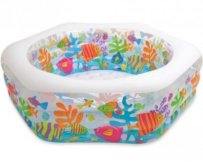 Надувной детский бассейн Intex 56493 (193 см х 178 х 61 см)