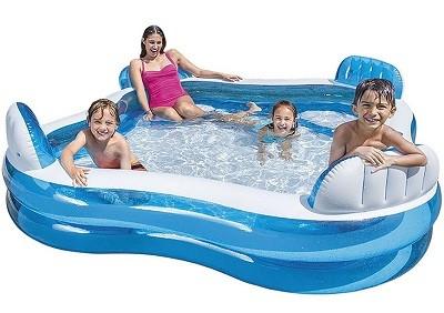 Семейный надувной бассейн Intex  - новая модель 2018 года