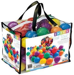 Пластиковые мячи для детей