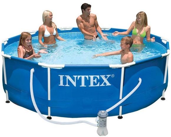 Бассейн каркасный Intex 56996